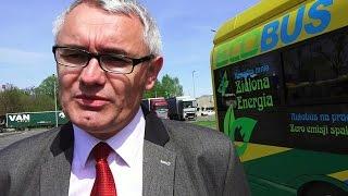Krzysztof Musia� z firmy Solaris o autobusach elektrycznych dla ostro��ckiego MZK