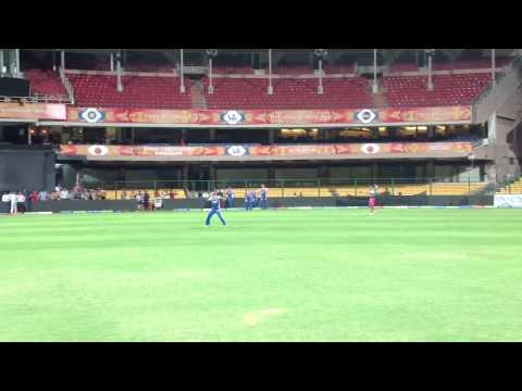 Speed catching at the practice by vijay