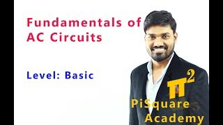 Fundamental Definitions of AC Circuits |PiSquare Academy