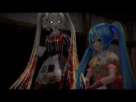 [MMD] Miku Doll - Mad Father-Old Doll