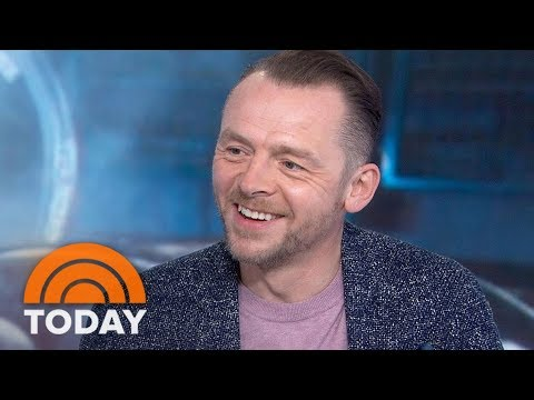 Simon Pegg On New Film 'Ready Player One': 'I Had To See It Twice'  TODAY