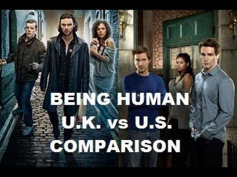 BEING HUMAN British  Vs American series . Comparison of UK  original to US remake TV show