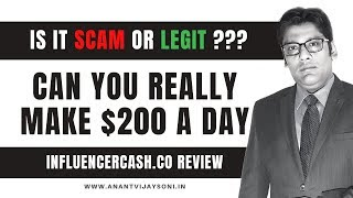 Influencercash.co Review  — Is it SCAM or LEGIT??? - Full Review in Hindi by Anant Vijay Soni