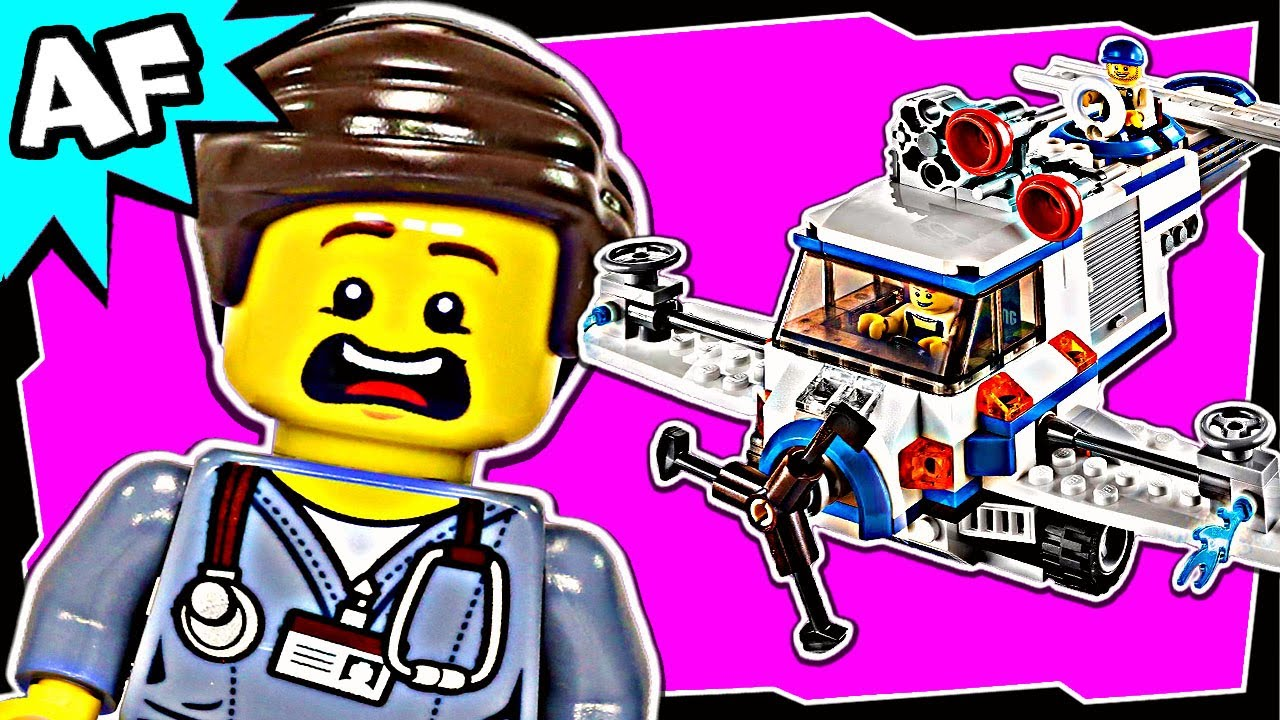 Lego Movie Flying Flusher 1 70811 Stop Motion Build Review Youtube