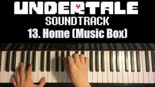 Undertale OST - 13. Home (Music Box) (Piano Cover by Amosdoll)