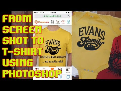 How To Design A T Shirt From A Custom Ink Mock Up TshirtChick