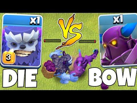 Max Lvl 3 Yeti Vs.New Pekka!! | Clash Of Clans | Who Will Win!?!