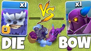 Max lvl 3 Yeti vs.New Pekka!! | Clash Of Clans | who will win!?!