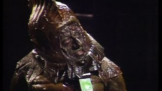 Video nasties - Sil and the Governor negotiate - Doctor Who - Vengence on Varos - BBC