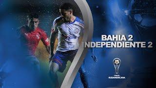 Bahia vs. Independiente [2-2] | RESUMEN | Fecha 3 | CONMEBOL Sudamericana 2021