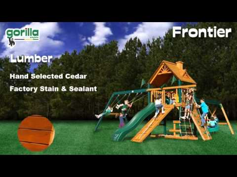 Frontier Swing Set Gorilla Playsets Youtube