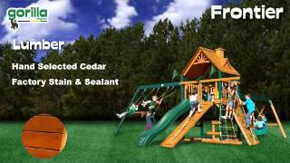 Frontier Swing Set - Gorilla Playsets