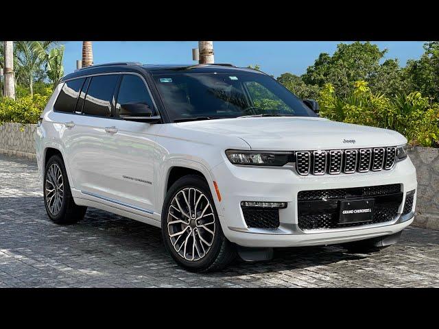 Nueva Jeep Grand Cherokee L 2021: para el Offroad en modo lujo