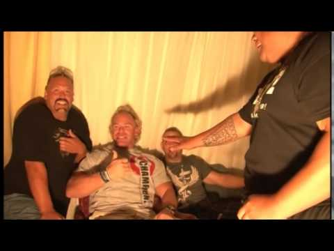 Rikishi & the Headbangers Interupt New Age Outlaws SHOOT Interview