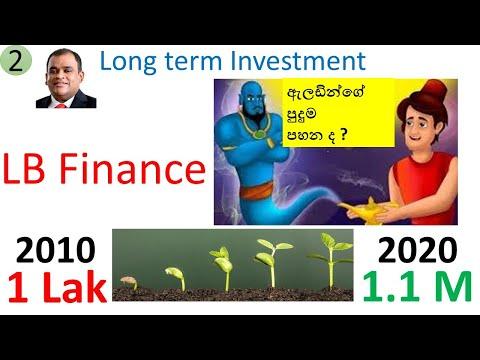 LB Finance Long term investment