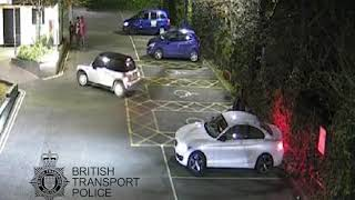 Car thief tracked down after stealing BMW outside station - West Midlands