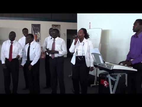 2. South Sudanese Churches choir pary for peace in Calgary