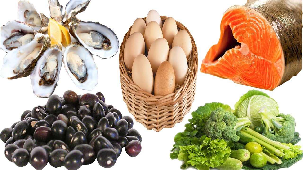 Top 5 Foods That Boost Testosterone - YouTube