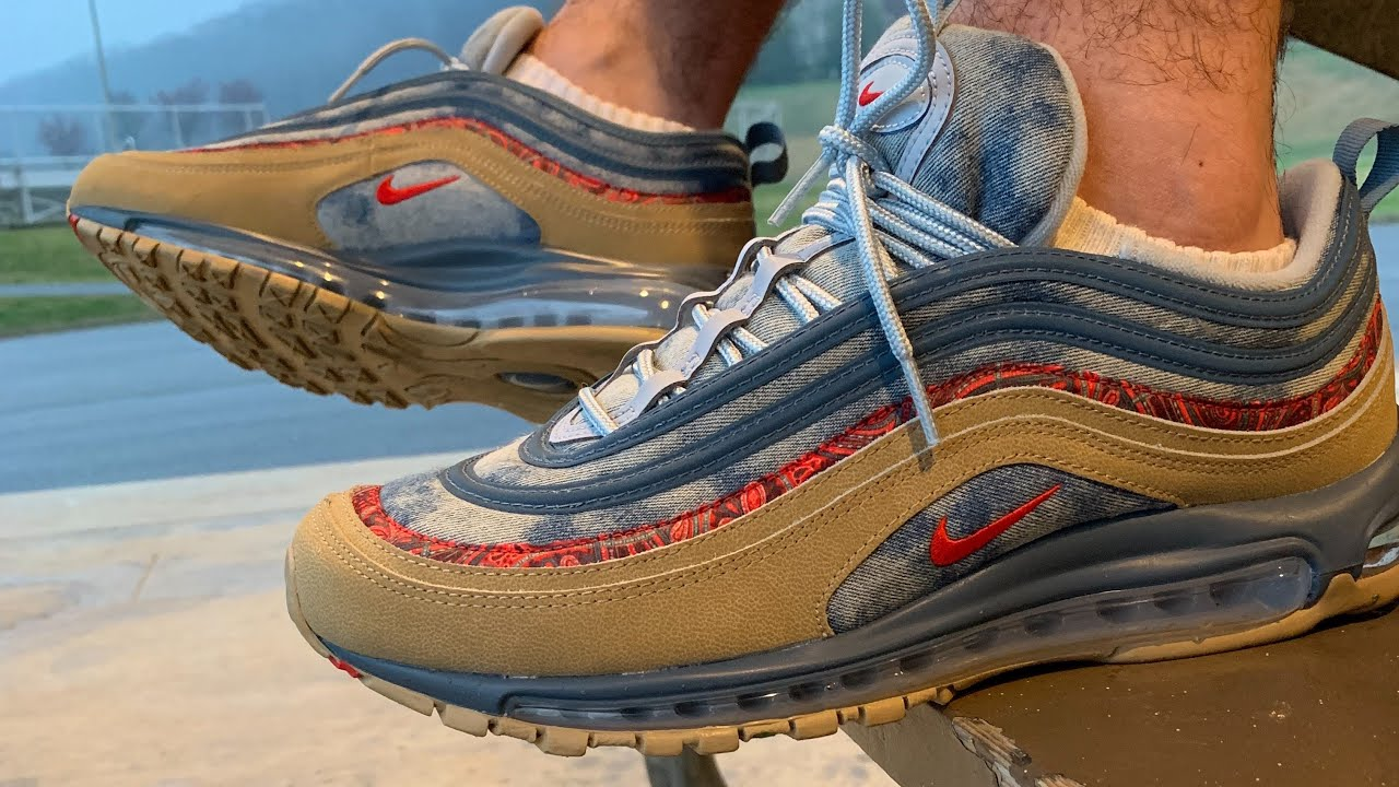 Nike Air Max 97 Wild West Review - YouTube