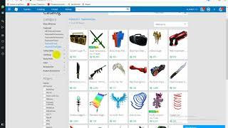 как создать свою вещь в роблоксе и поставить в каталог за робуксы