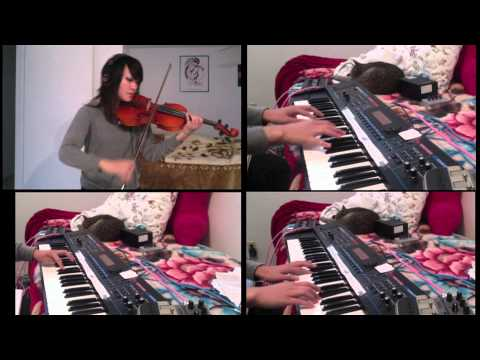 Françoise Hardy - Le premier bonheur du jour [Piano + Violin Cover]