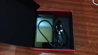 prestigio mobile phone unboxing and review