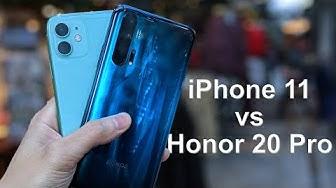 iPhone 11 vs Honor 20 Pro Camera Comparison