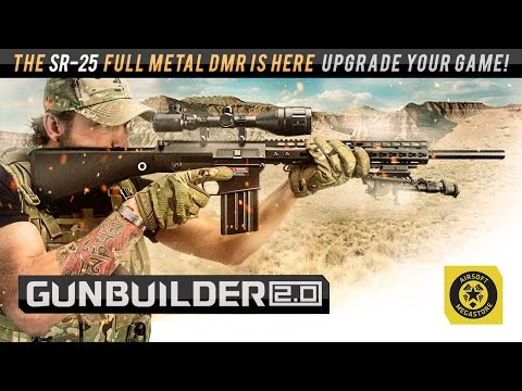 Build your Custom SR-25 Full Metal Airsoft DMR  | Airsoftmegastore.com