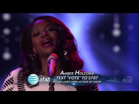 Amber Holcomb - Lately -American Idol 2013 Top 8