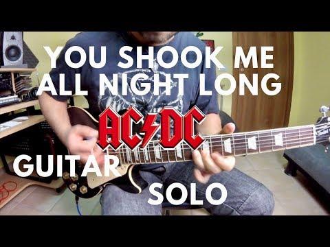 AC/DC - You Shook Me All Night Long - Guitar Solo
