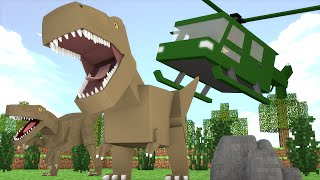 Minecraft : RESGATE DO DINOSSAURO PERDIDO !! - ARK CRAFT SURVIVAL #30