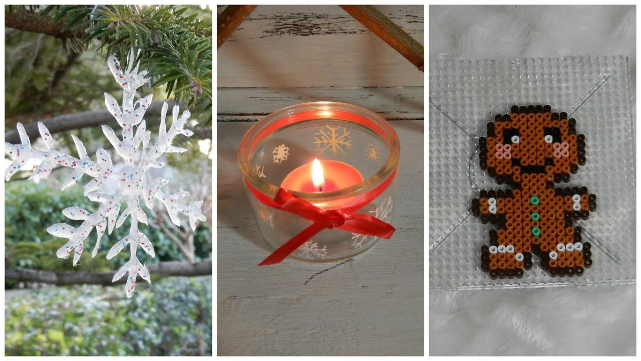 D co de no l faire soi m me christmas decor diy 3 for Youtube decoration de noel