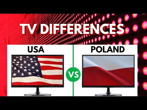American vs. Polish TV - What's Different?