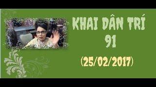 Lisa Pham - Khai Dân Trí 91 (Thứ Bảy 25/02/2017)