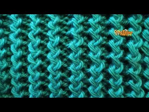Como tejer punto ingl s zigzag 2 agujas 207 youtube - Como empezar a hacer punto paso a paso ...