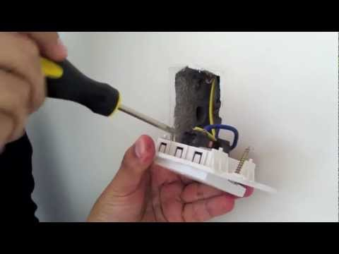 Ipt 01w temporizador digital tipo interruptor instalacion - Conmutador de luz ...
