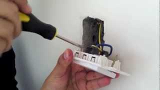 IPT-01W Temporizador Digital Tipo Interruptor  INSTALACION