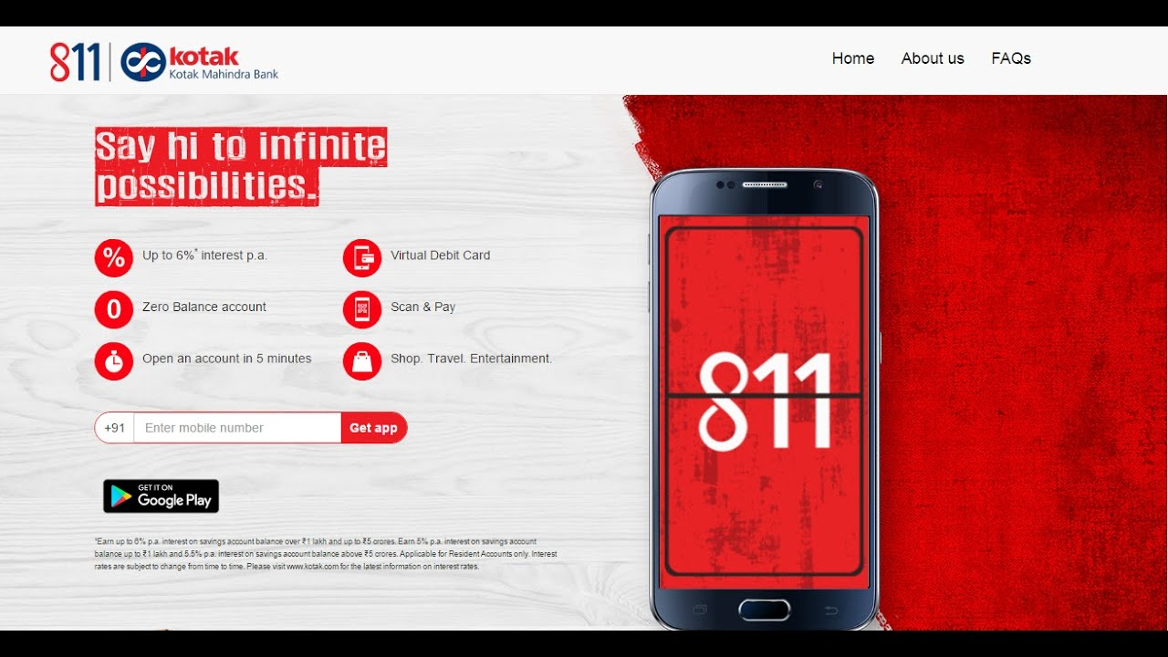 How To Open 811 Kotak Account From Your Mobile Without Any Documents