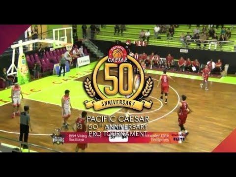 [Pro Baskeball 50th Pacific Caesar] BBM Warriors VS Blackwater Elite Part-1