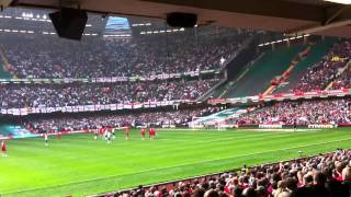 Frank lampard penalty v Wales 1-0