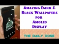 Amoled Wallpapers | Wallpapers App Review | Best Black Wallpapers
