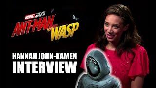 ANT-MAN AND THE WASP: Hannah John-Kamen Interview