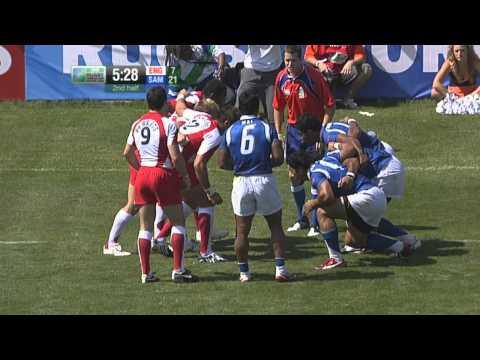 RWC 7s 2009 - England v Samoa