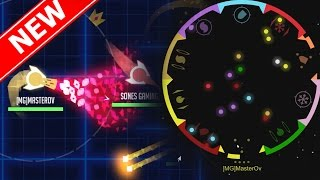 Gunr.io ADDICTIVE Space Ship Battle Simulator!! - 3 New .IO Games - Games Like Diep.io / Slither.io!