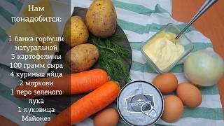 Очень вкусный салат «Мимоза»
