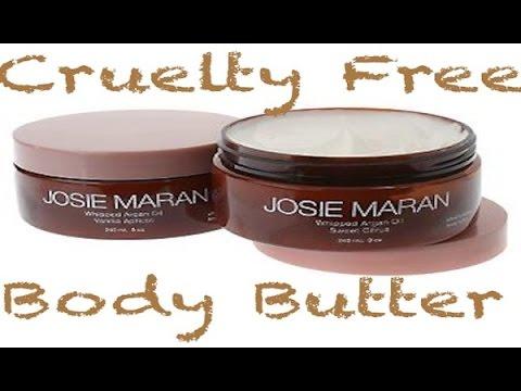 review josie maran argan body butter nourish body butter youtube. Black Bedroom Furniture Sets. Home Design Ideas