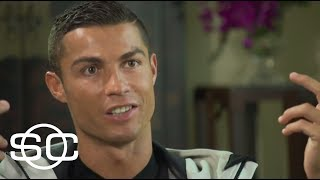 Cristiano Ronaldo sits down with Marty Smith to talk about his career, his visit to China and more. ✓ Subscribe to ESPN on YouTube: ...