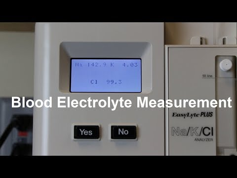 Blood Electrolyte Measurement