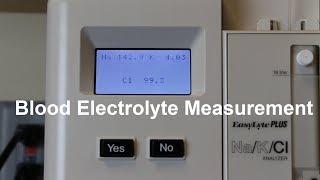 Blood Electrolyte Measurement