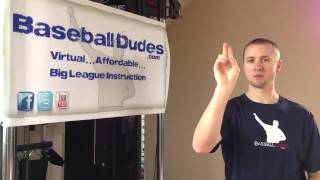 Baseball Dudes Video Tip w/ Chris Gissell